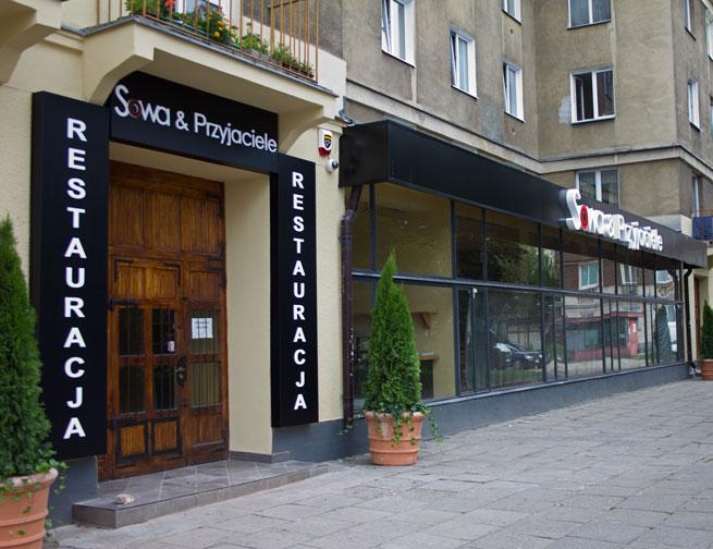 Sowa & Przyjaciele restauracja