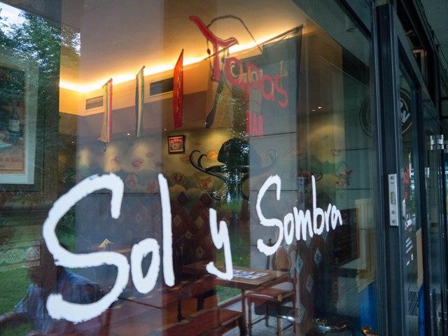 Sol y Sombra Foodie