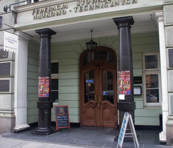 Avangarda restauracja