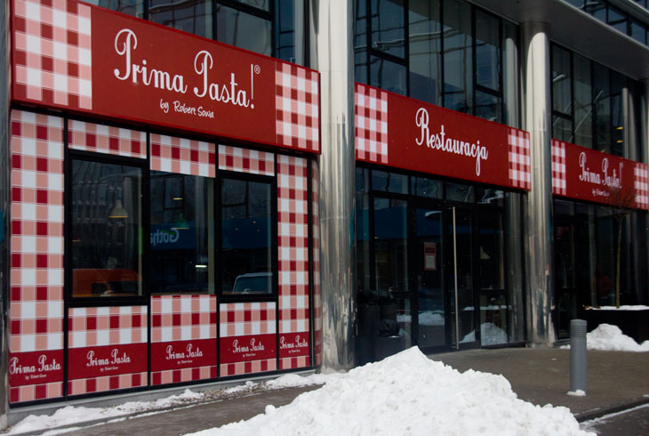 Prima Pasta by Robert Sowa