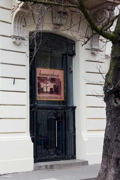 Kameralna restauracja Foksal
