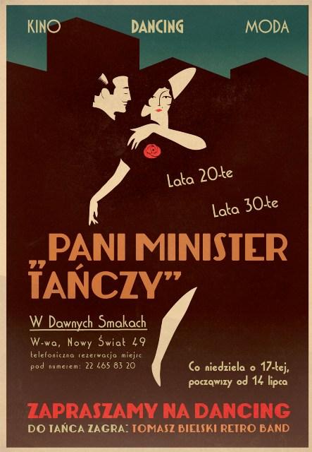 Pani minister tanczy
