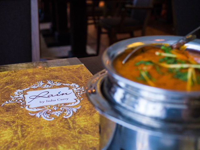 Rain by India Curry Menu