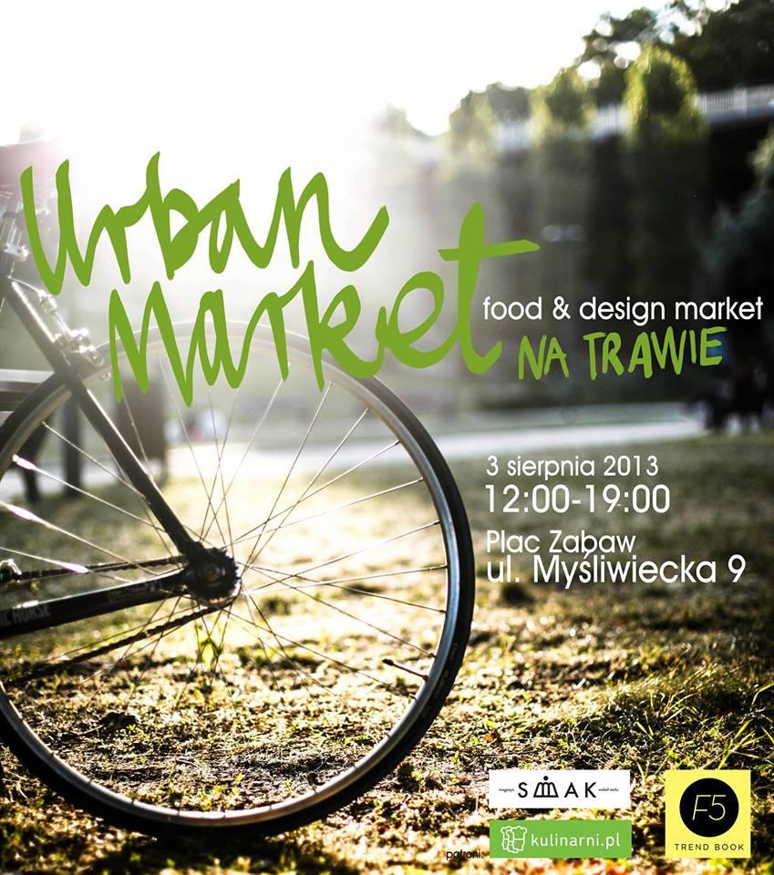 urban market na trawie