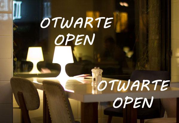 restauracje otwarte 1 listopada