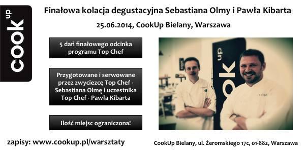 Cook Up kolacja Top Chef