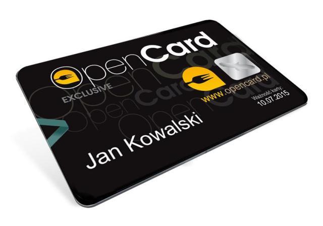 OpenCard - karta bez tla