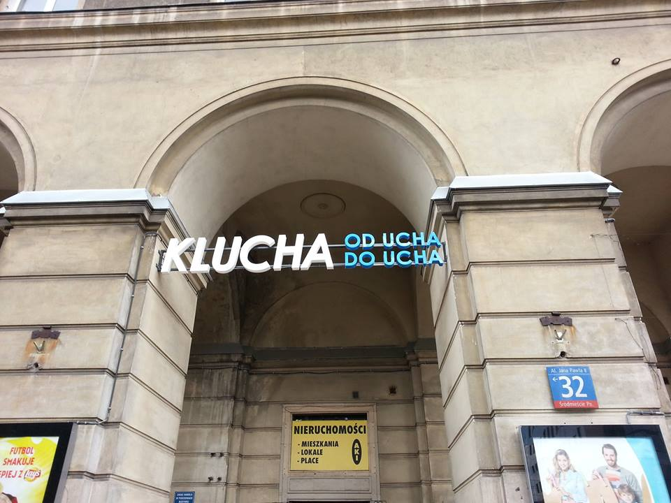 Klucha od Ucha do Ucha