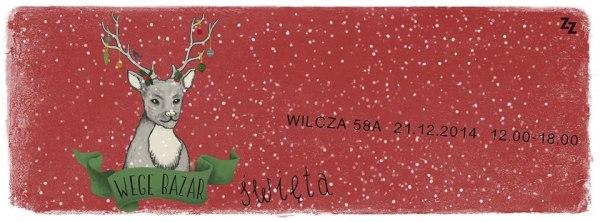 Źródło: Facebook / Strona wydarzenia Wege Bazar: Święta bez karpia!