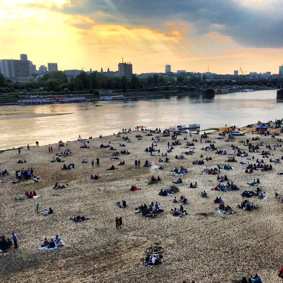 Plaża otwarta