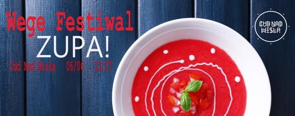 Źródło: Facebook / strona wydarzenia Wege Festiwal ZUPA!