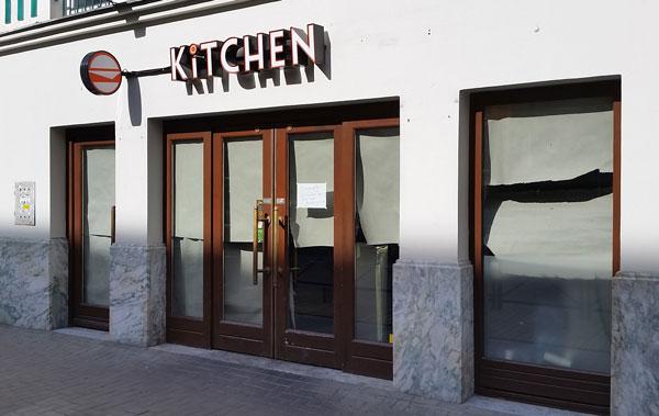 Kitchen restaurant zamknięta