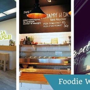 Foodie Week: Soja Sushi, Pizzeria Da Aldo i Cafe Art of Home