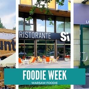 Foodie Week: Grunt i Woda, Restauracja Si i Il Cono