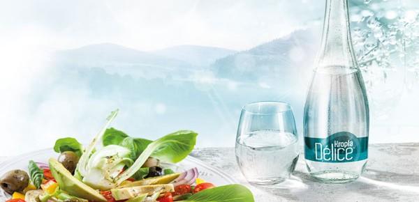 Kropla Delice - nowa woda na restauracyjnych stołach