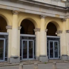 Bastylia przy placu Zbawiciela - zamknięta
