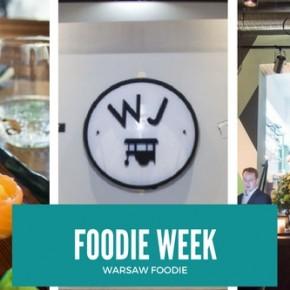 Foodie Week: Kago Sushi, Warung Jakarta i Kieliszki na Hożej