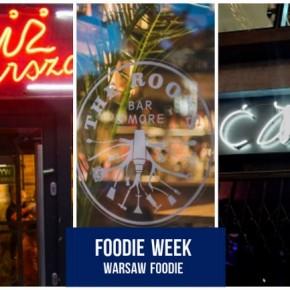 Foodie Week: Ćma, Prodiż Warszawski i The Roots