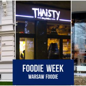 Foodie Week: Florentin, Klub Prawnika i Thaisty Żoliborz