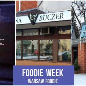 Foodie Week: Charlie, Fontanna i Buczer Saska Kępa