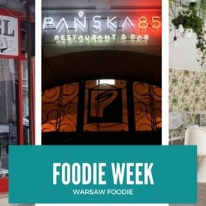 Foodie Week: Bagel City Gang, Pańska 85 i The Zoopa