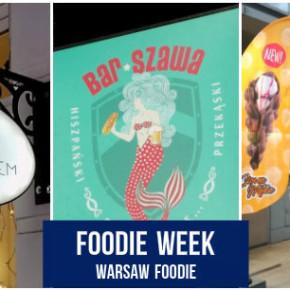 Foodie Week: Bar Szawa, Kawka z kotem i Give Me Waffle