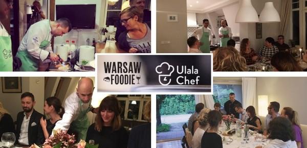 Karnawałowa promocja Ulala Chef i Warsaw Foodie