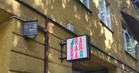 Rabarbar Powiśle Radna kawiarnia