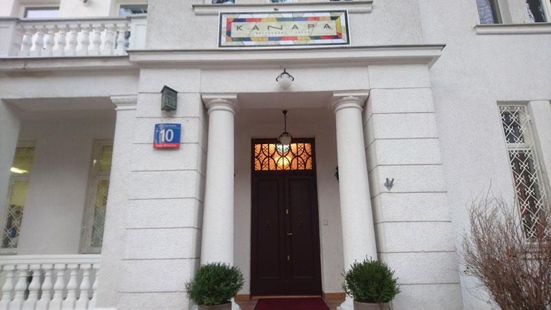 Kanapa restauracja Narbutta