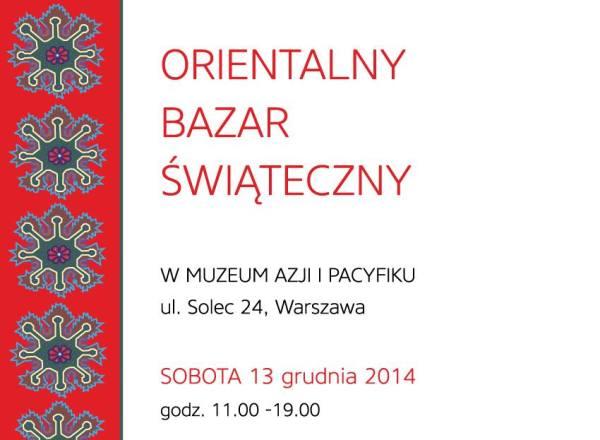 Źródło: Facebook / Strona wydarzenia Orientalny Bazar Świąteczny
