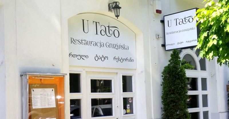 U Tato Restauracja Gruzińska Na Mokotowskiej Warsaw Foodie