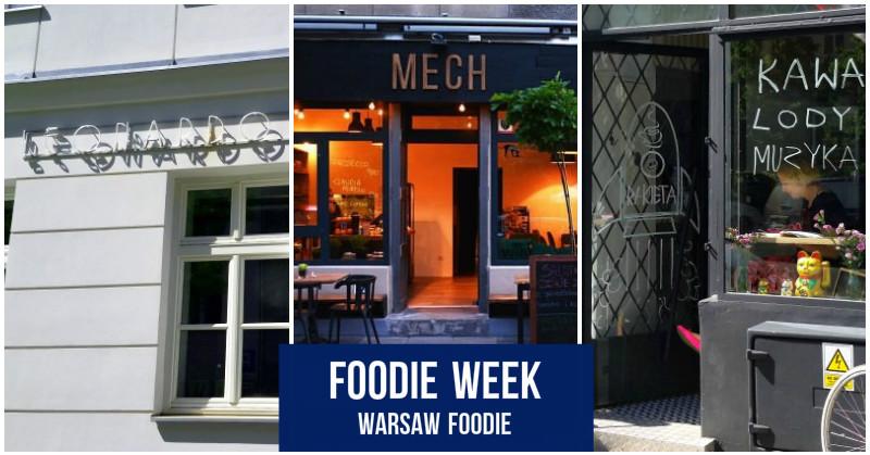 Foodie Week Leonardo Verde Rakieta Cafe I Mech Warsaw Foodie