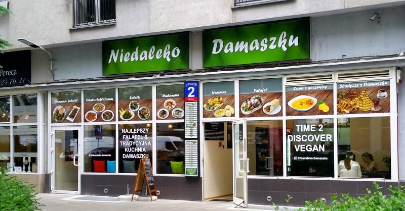 Niedaleko Damaszku Niedaleko Ronda Onz Warsaw Foodie