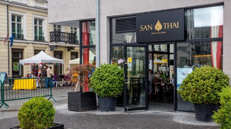 San Thai Nowa Tajska Restauracja Przy Próżnej Warsaw Foodie