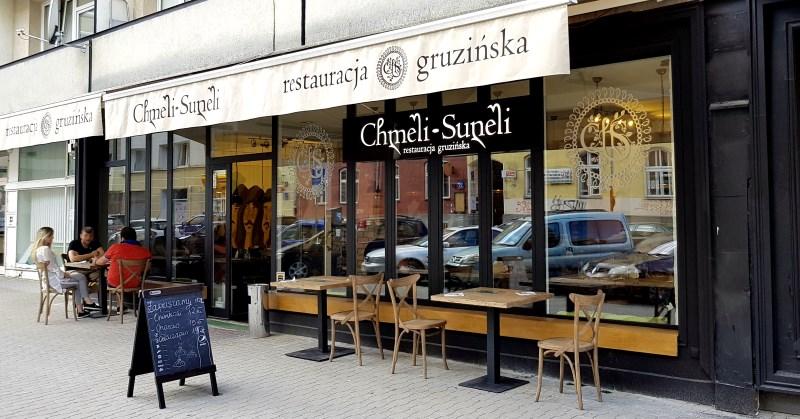 Chmeli Suneli Nowa Gruzińska Restauracja Warsaw Foodie