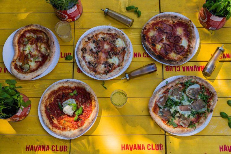 Pizza di strada