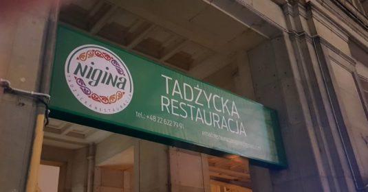 Nigina restauracja tadżycka