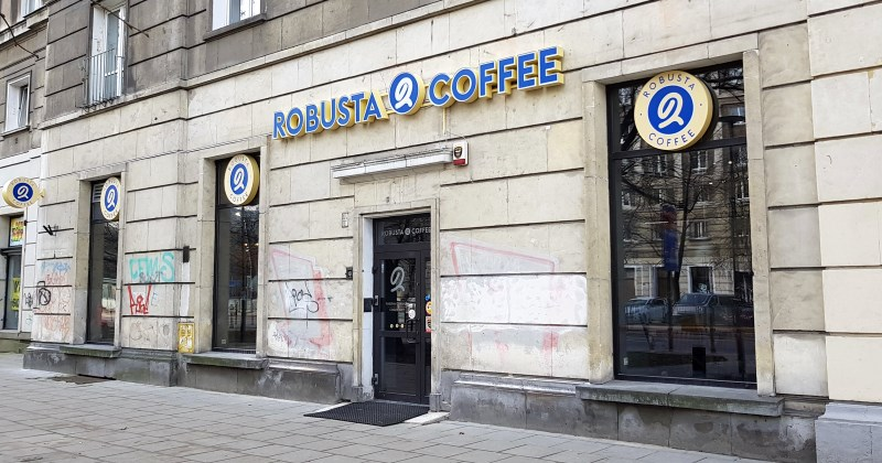 Robusta Coffee Andersa Muranów