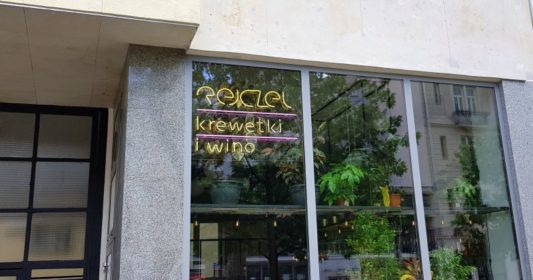 Rejczek Krewetki i Wino