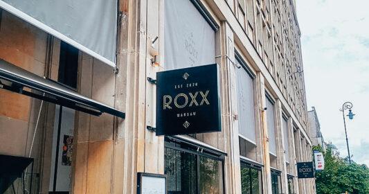 Roxx Żurawia nowa restauracja
